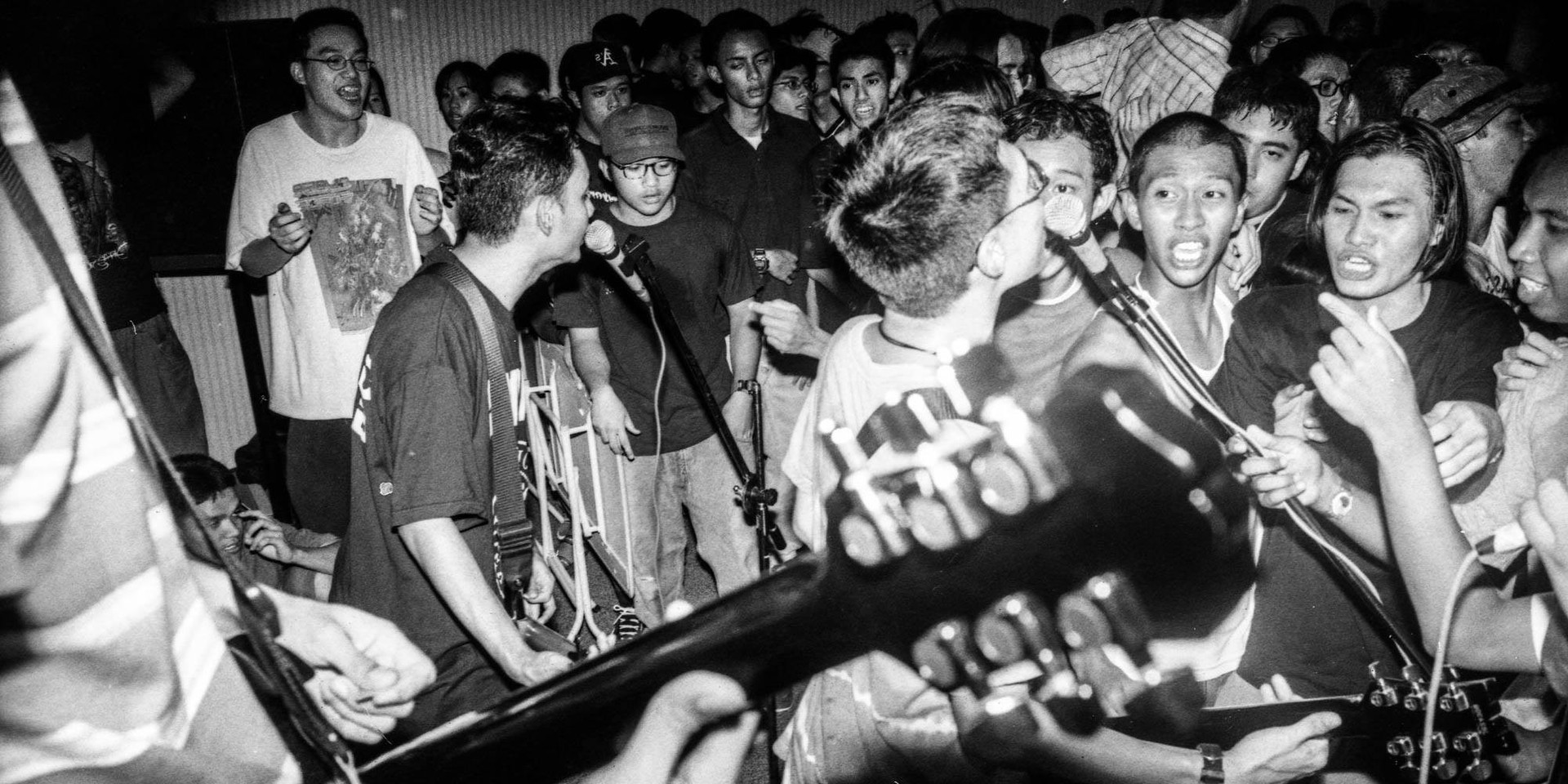A pictorial guide to the raw energy of Singapore's underground hardcore punk scene in the 1990s