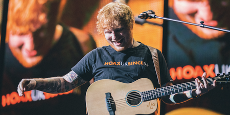 Ed Sheeran named 2017's best-selling global recording artist