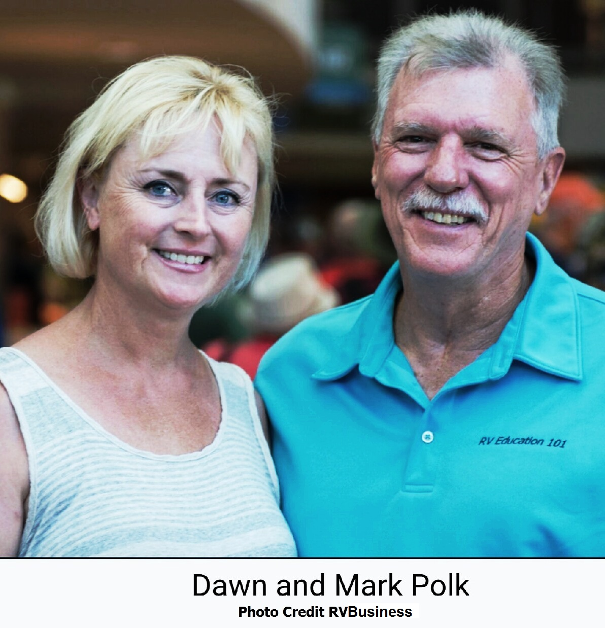 Dawn and Mark Polk photo credit RV Business