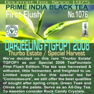 Darjeeling FTGFOP1 Thurbo Estate Special Crop 2008 from TeaFountain