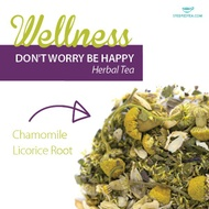 Don't Worry Be Happy from Steeped Tea