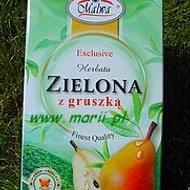 Herbata Zielona z gruszka (Green Tea with Pear) from Malwa Tea