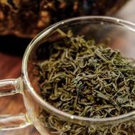 He Family 1st Picking Laoshan Green from Verdant Tea (Special)