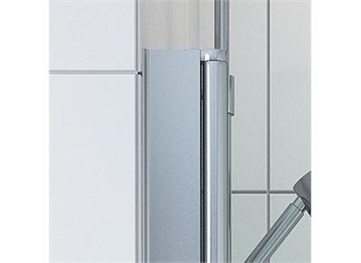 Utfellingsprofil for dusjdør - 70mm (195 cm høy)