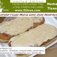 Custard-Filled Maple Long John Honeybush from 52teas
