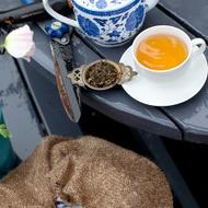 Organic Dragonwell (Longjing/Lung Ching) from The Rabbit Hole Organic Tea Bar