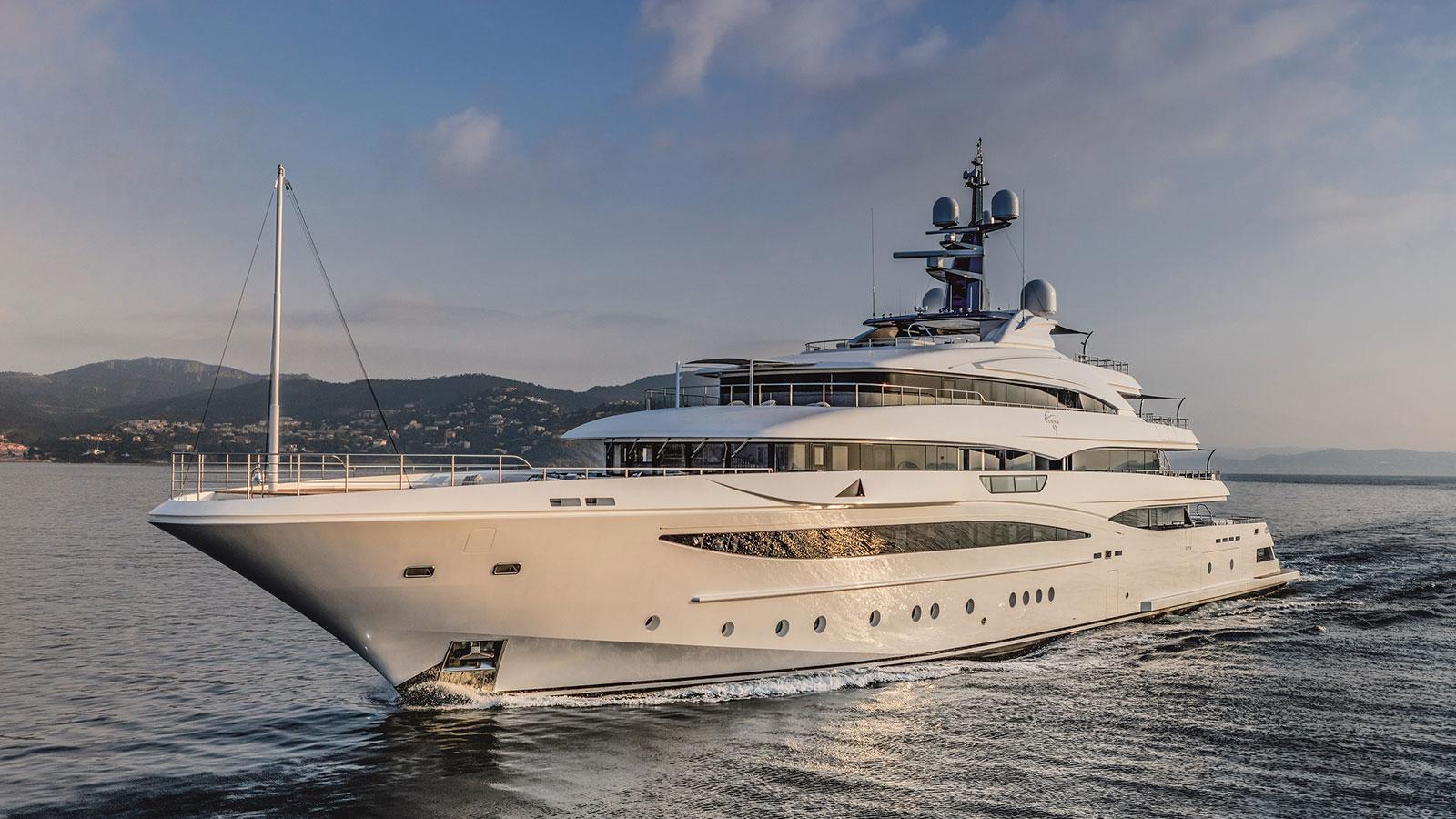 74 Metre Crn Motor Yacht Cloud 9 Sold