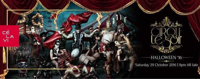 Halloween: Cirque Le Soir, 29 October