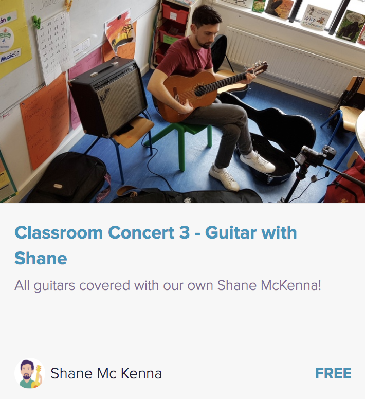 Guitar Course Classroom Concert