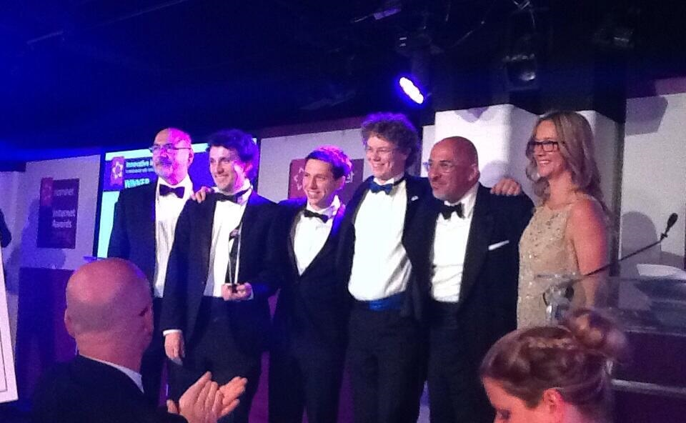Nominet Internet Awards 2014 winners writeLaTeX Overleaf