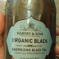 Organic Black Bottled Iced Tea Energizing Black Tea from Harney & Sons