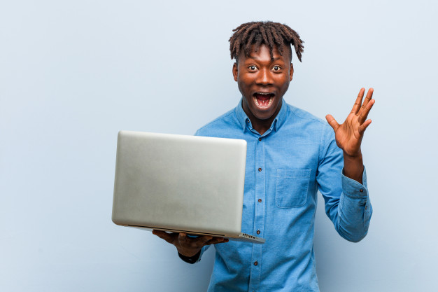 A happy student after learning Web development