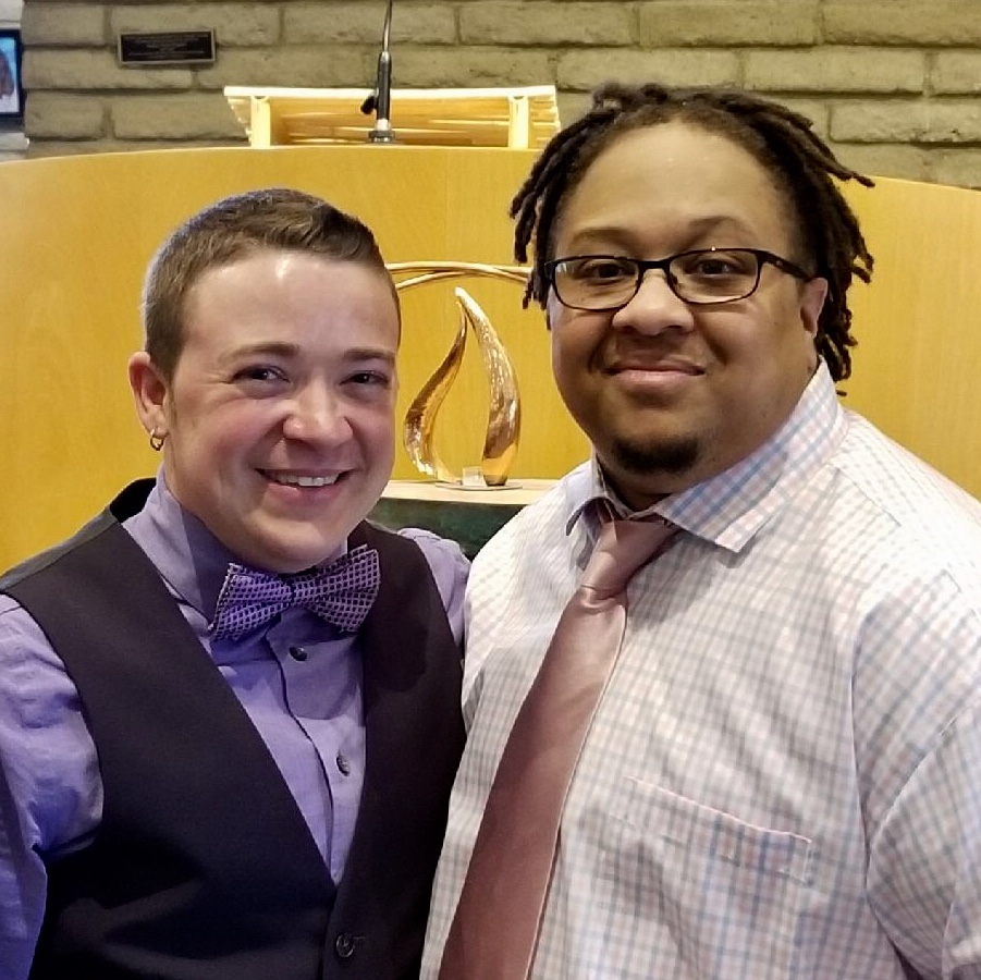 Rev. Mykal Slack & Zr. Alex Kapitan