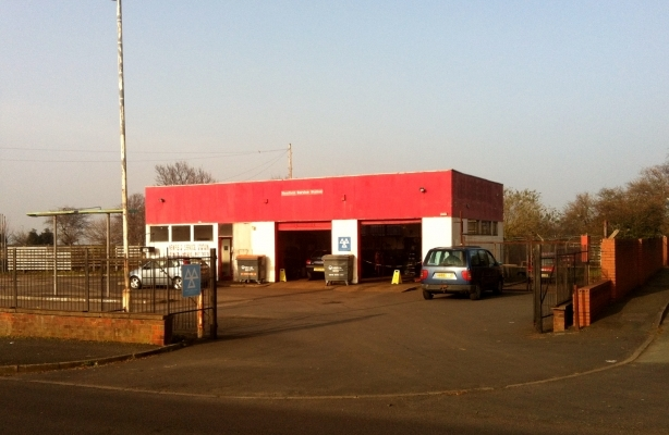 Newfield service station wombridge road trench telford for Freehold motor vehicle inspection station