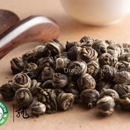 Supreme Organic Pearl Jasmine Green Tea from Dragon Tea House
