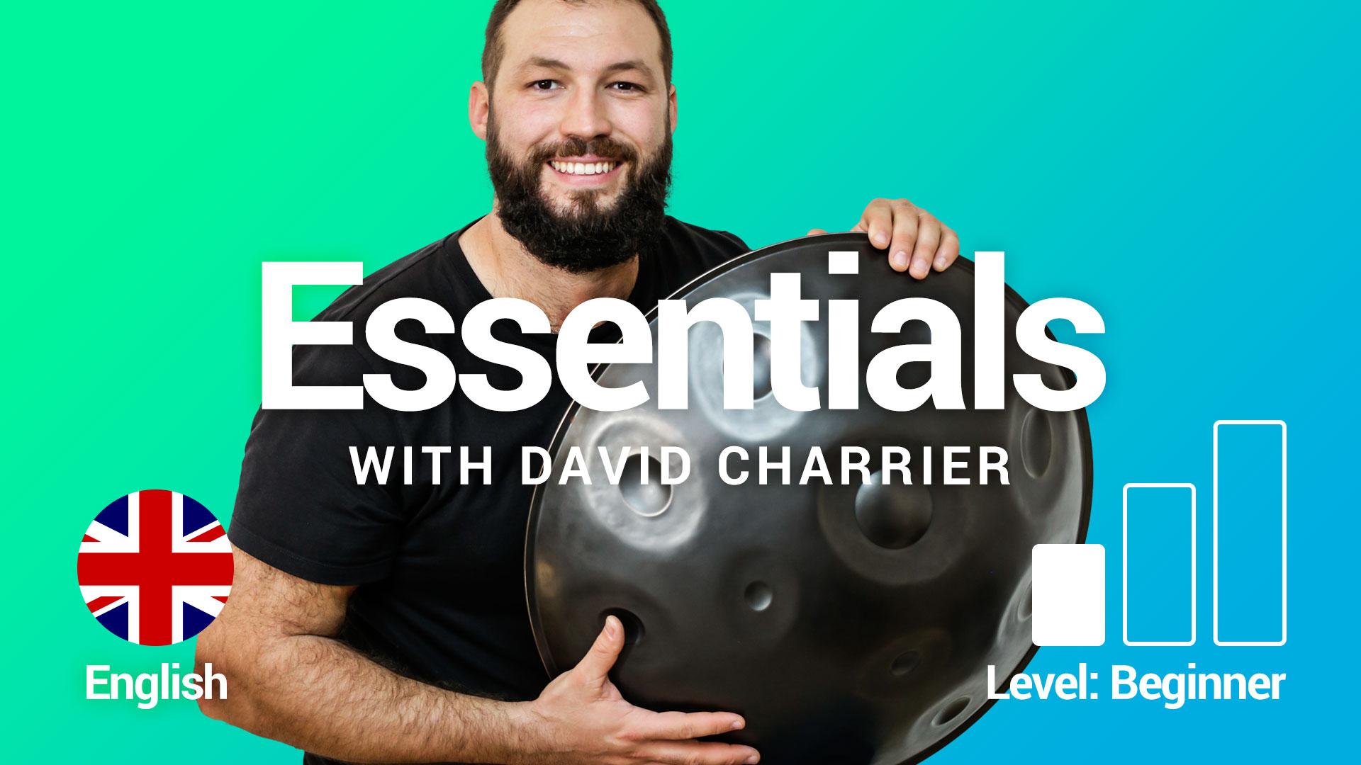 David CHARRIER – Essentials – Beginner handpan course