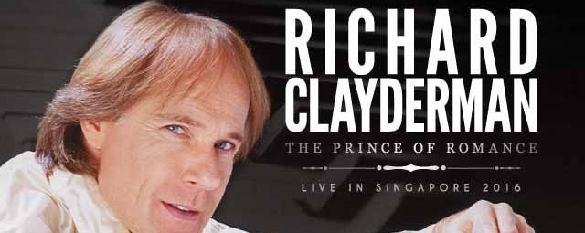 Richard Clayderman - The Prince of Romance  Live In Singapore 2016