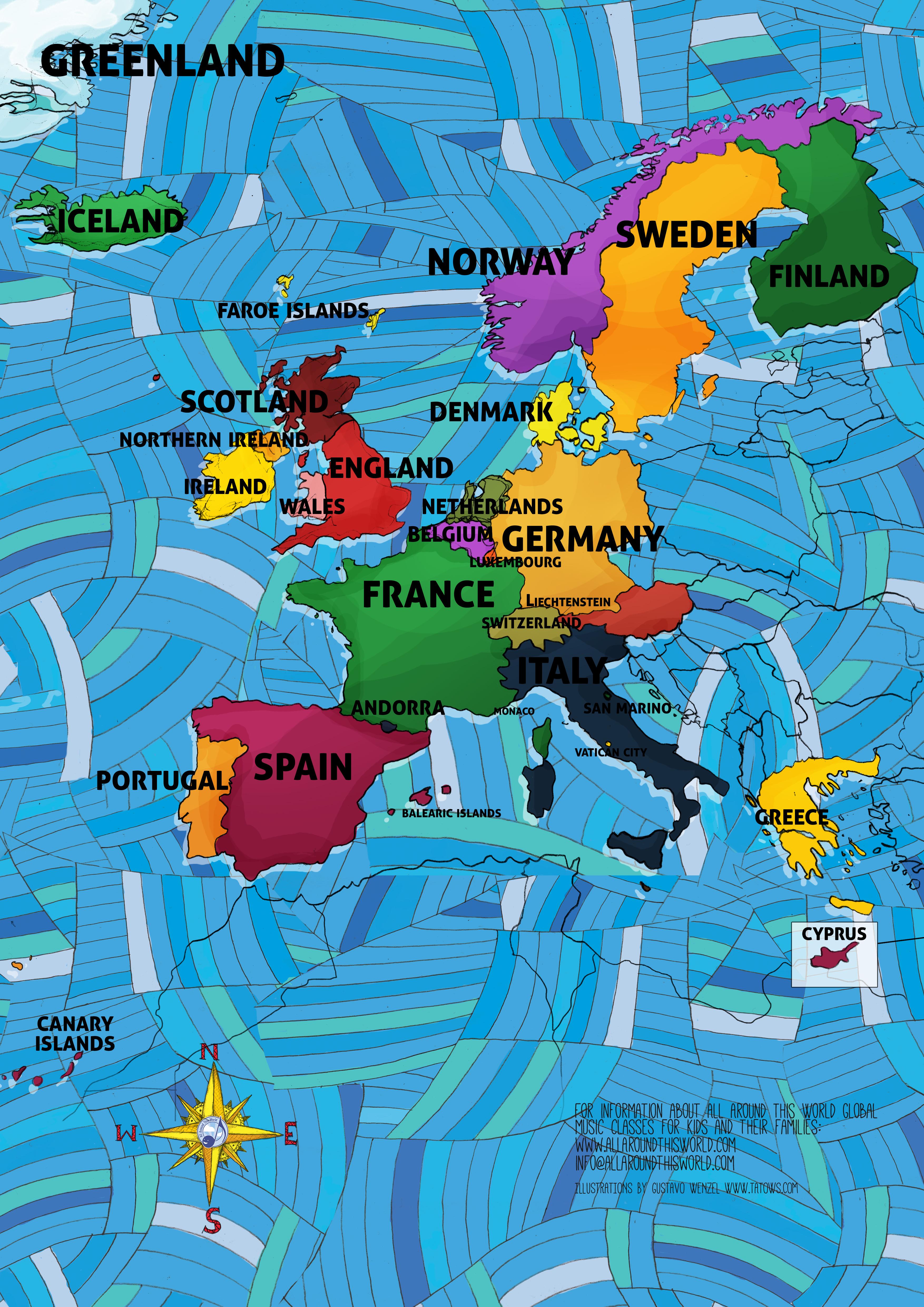 All Around This World Western Europe