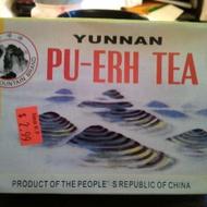 Yunnan Pu-Erh Tea from Golden Mountain Brand