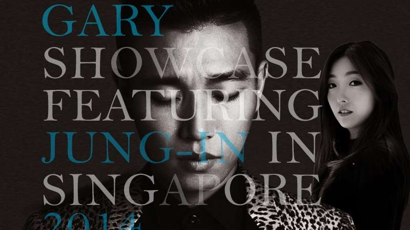 GARY SHOWCASE FEATURING JUNG-IN IN SINGAPORE 2014