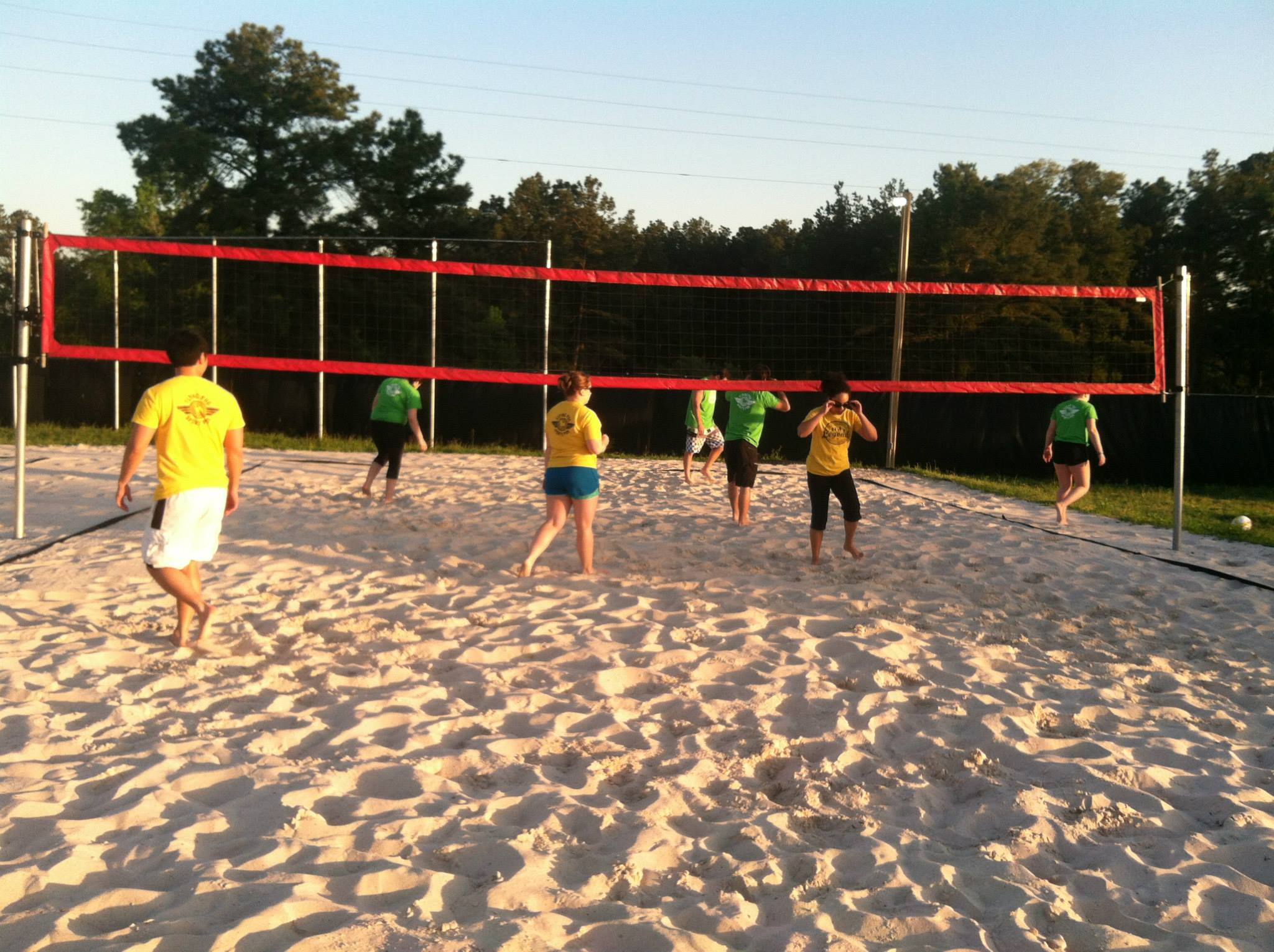 Sand V...   Volleyball Court Venue for Rent in The Woodlands