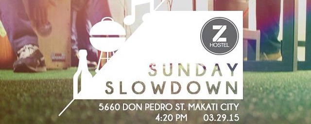 Sunday Slowdown