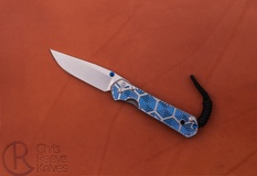 Chris Reeve Knives Small Sebenza 21 GCC - Hex in Blue
