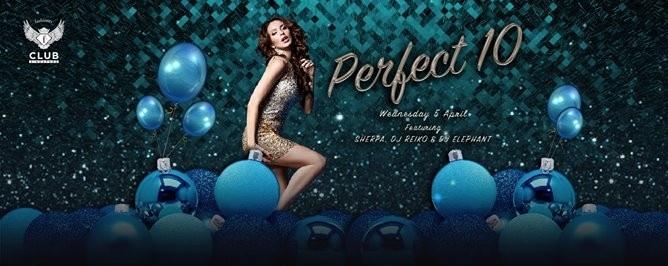 F.Club presents Perfect 10 - Ladies Night