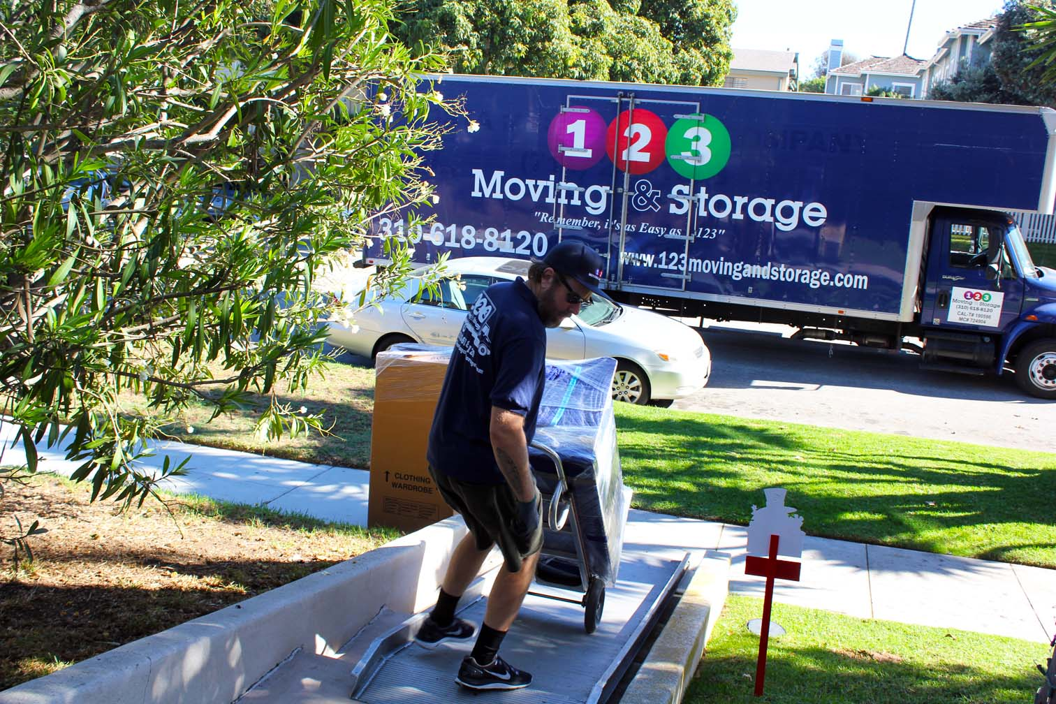 123 Moving And Storage Image ...
