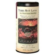 Yerba Mate Latte from The Republic of Tea