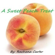 A Sweet Peach Treat from Adagio Custom Blends, Rachana Carter