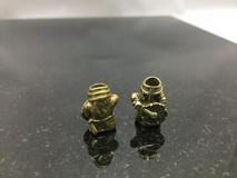 Helacious Blades Bronze Warrior Lanyard Bead