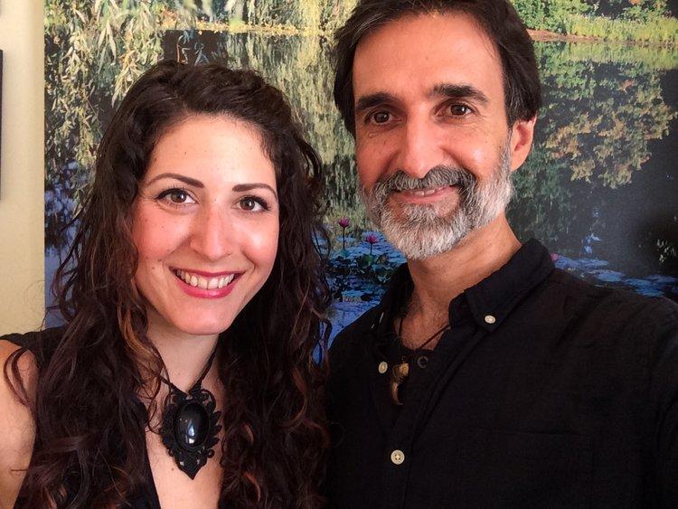 William Kaplanidis and Kristen Boyer