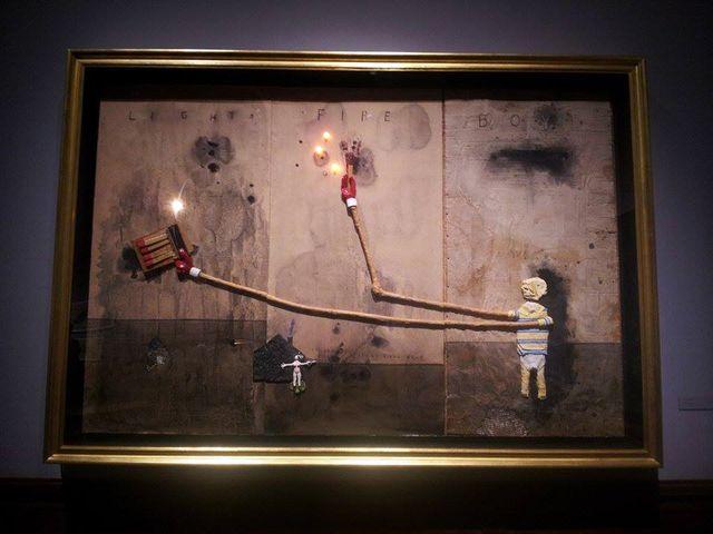 image: Boy Lights Fire, 2010