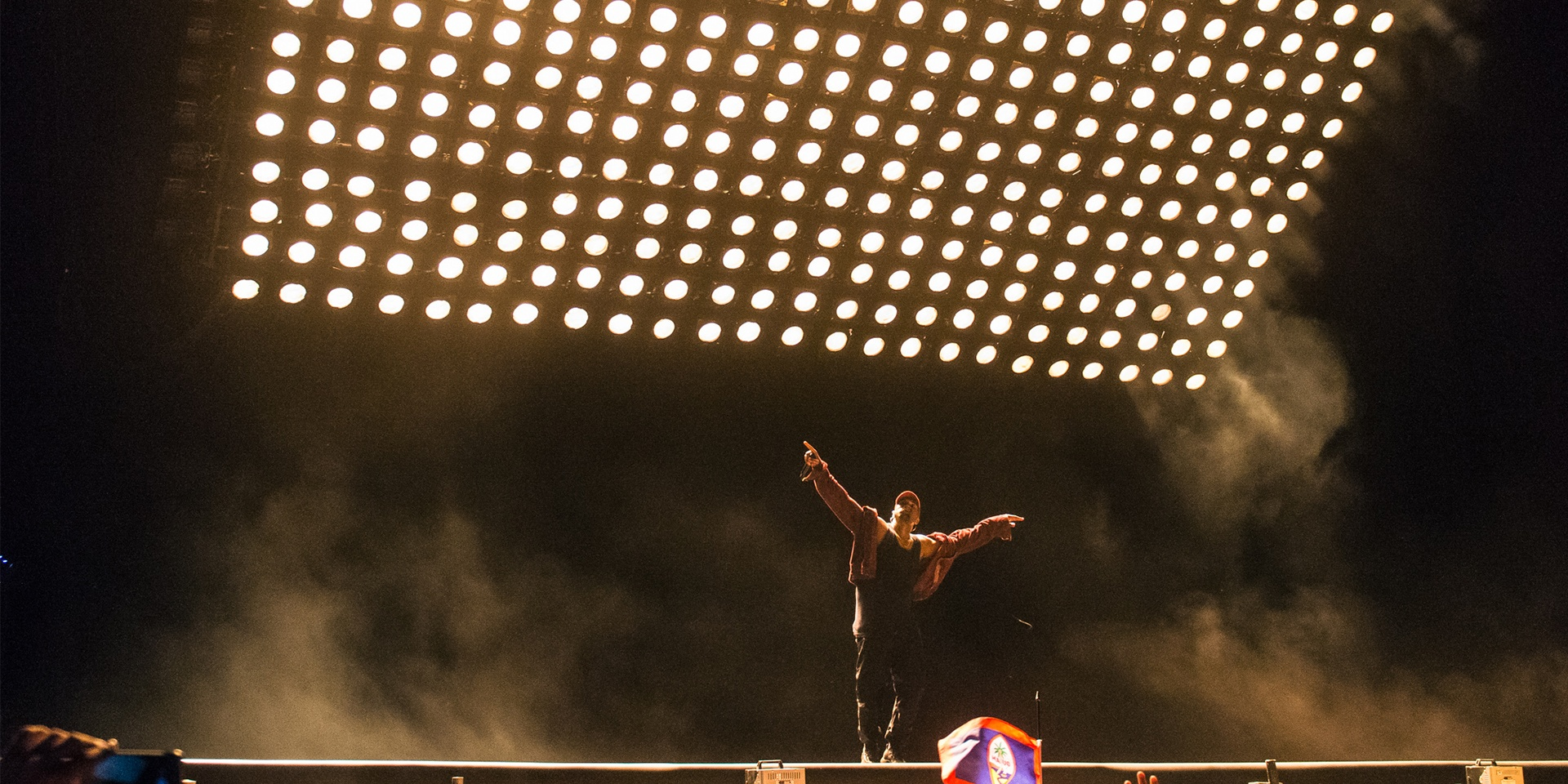 GIG REPORT: Kanye West takes us into the church of Yeezus