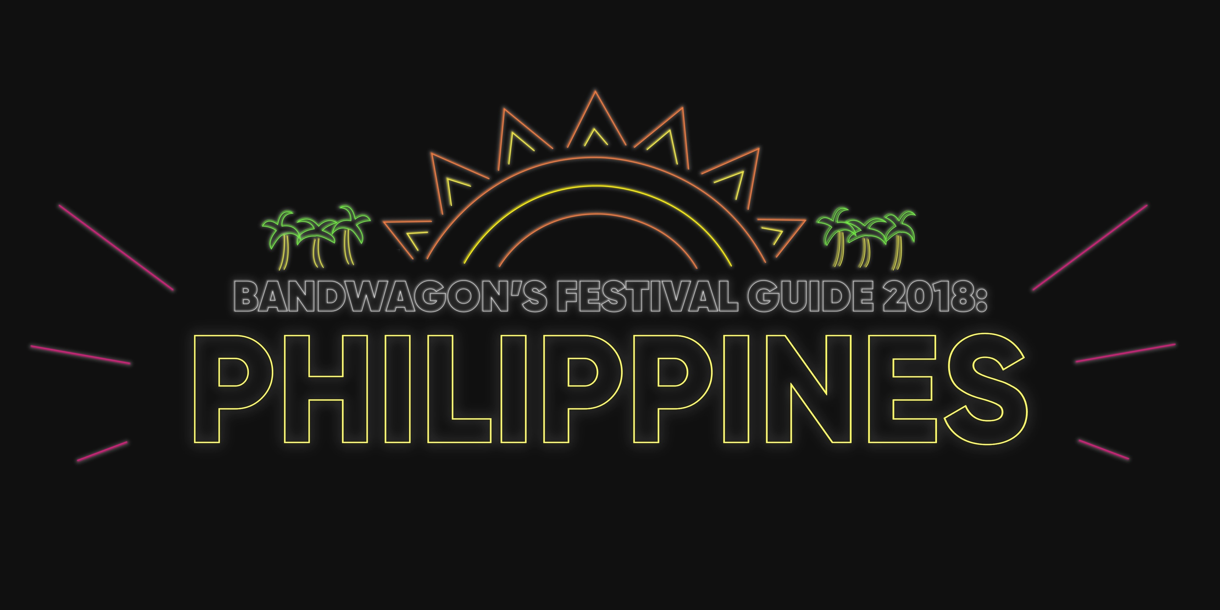 Philippine Music Festivals in 2018