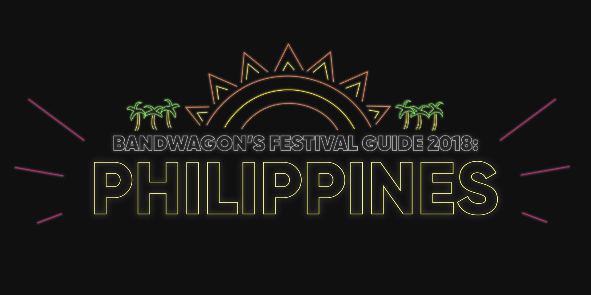 Philippine Music Festivals in 2018