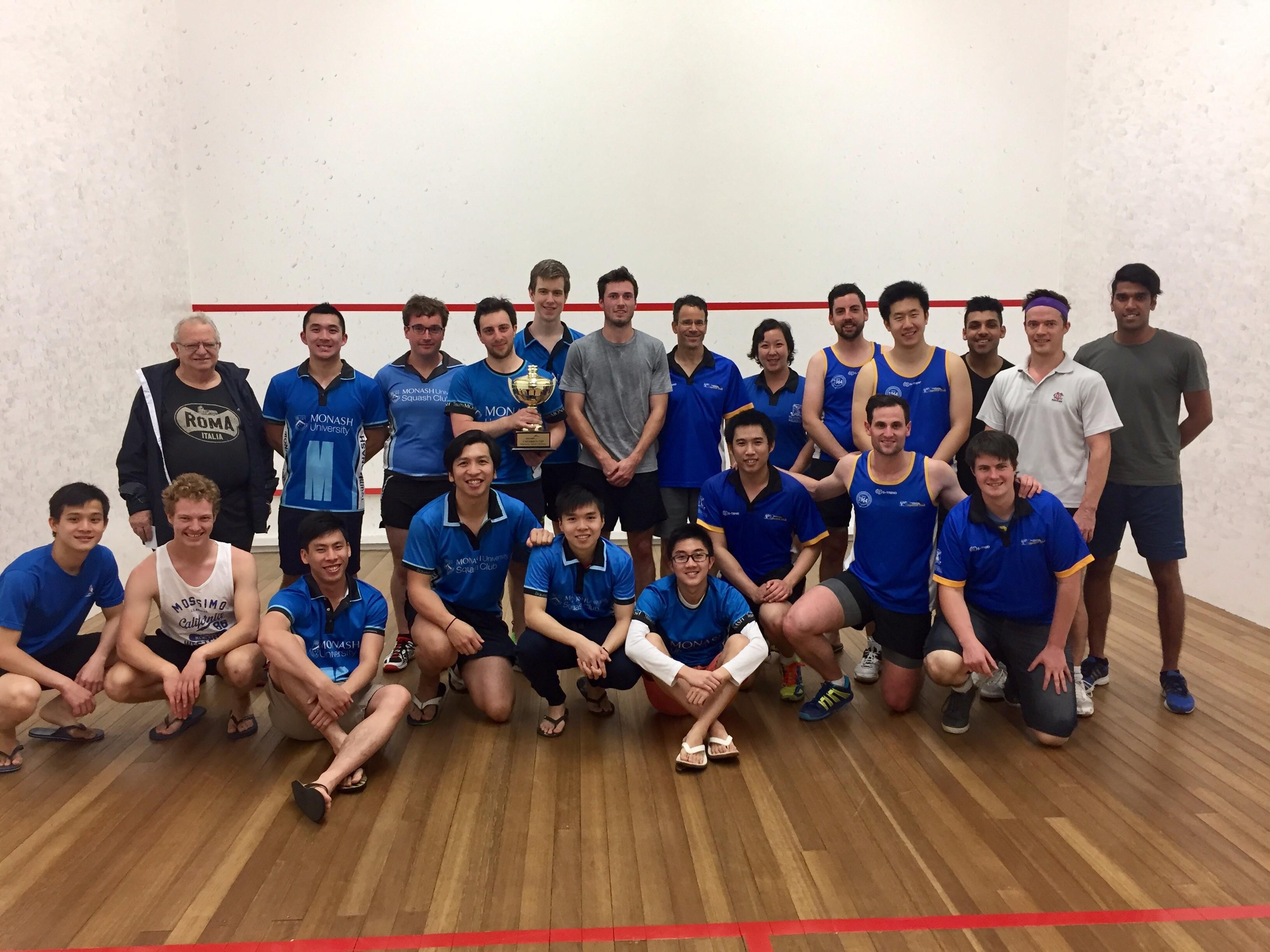 Monash University secures maiden University Squash Cup title ...