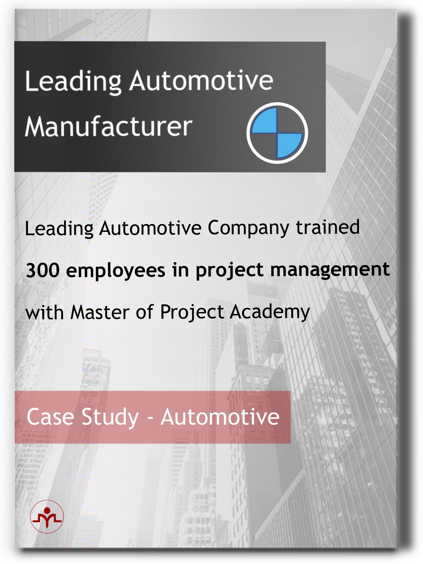 Leading Automotive Company-Client Case Study