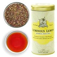 Luminous Lemon Rooibos from Zhena's Gypsy Tea