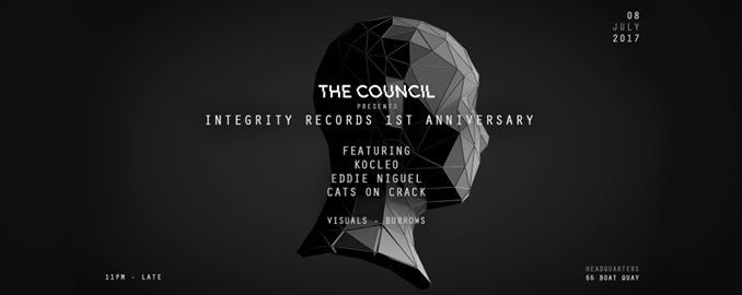 The Council presents Integrity Records 1st Anniversary