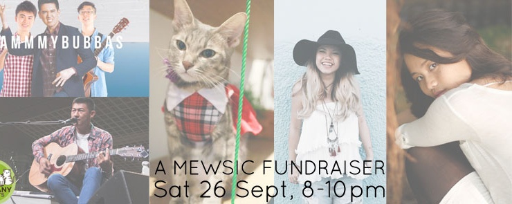 A Mewsic Fundraiser