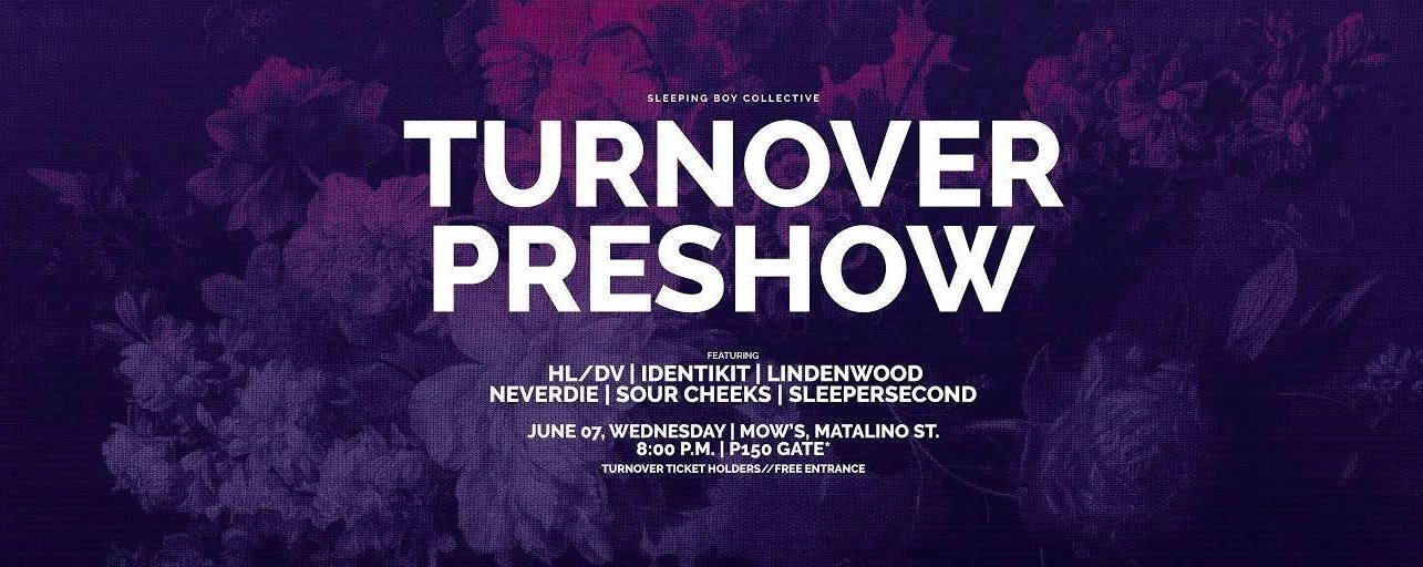 Turnover Pre-show