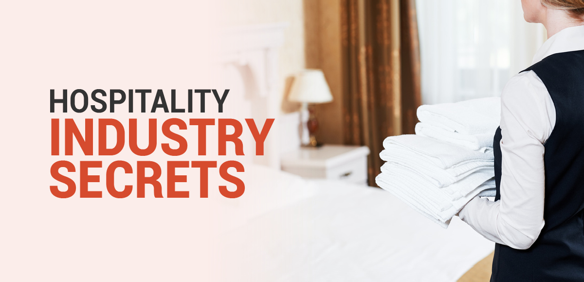 Hospitality Industry Secrets: The Importance of the Towel