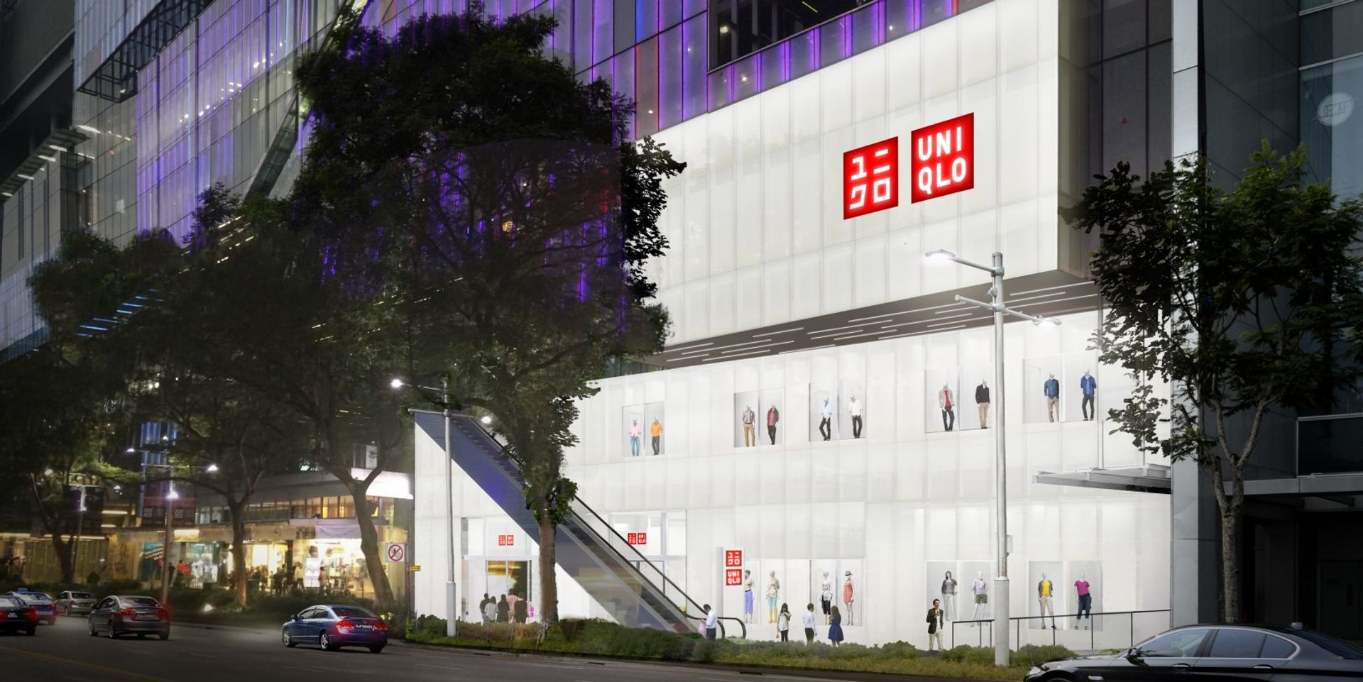 Uniqlo's new flagship store will feature original music curated by Syndicate
