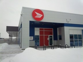 picture from Canada Post Corporation - Rosedale Letter Carrier Depot