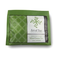 Mint Green Tea Eco Pyramid Teabags from Art of Tea