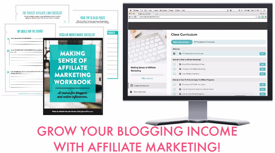Making Sense of Affiliate marketing course take your affiliate income from zero to hero