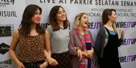 Warpaint, on growing up with music and eventually making some of it