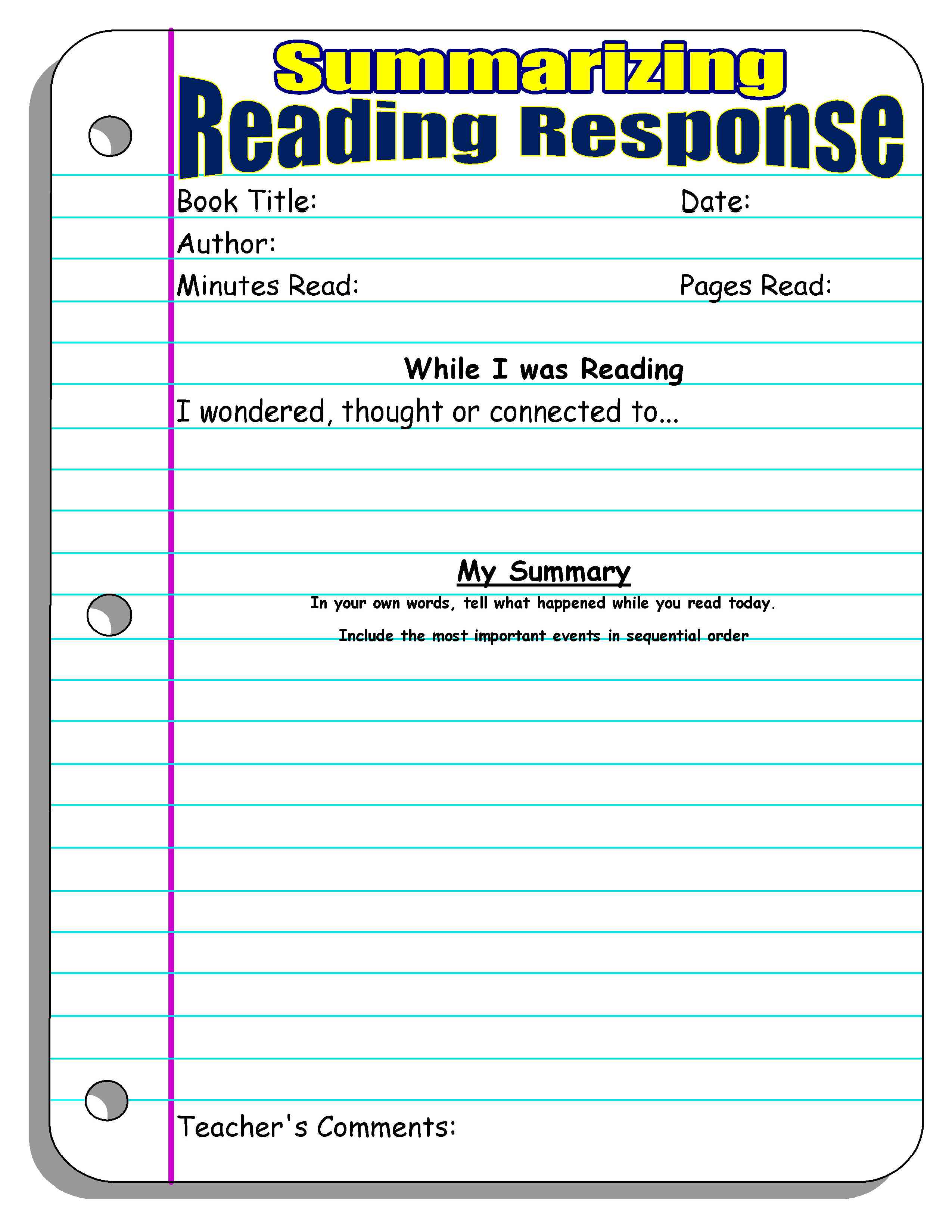 Printables Summarizing Worksheets For 4th Grade summarizing nonfiction worksheets syndeomedia